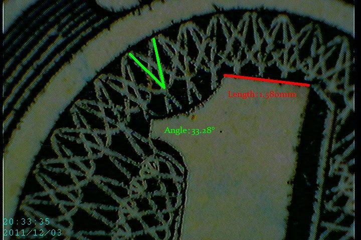 Caméra Microscope USB Firefly GT600 mesure microscopique Ligne