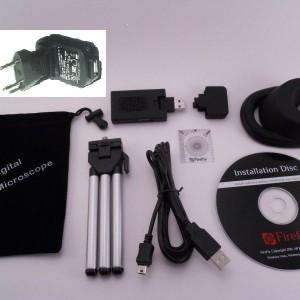 Microscope Firefly GT600 pack de lovraison