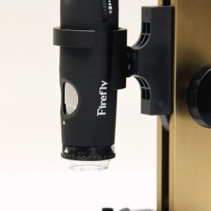Microscope USB polarisant Firefly GT820 & Firefly Support Microscope SL260