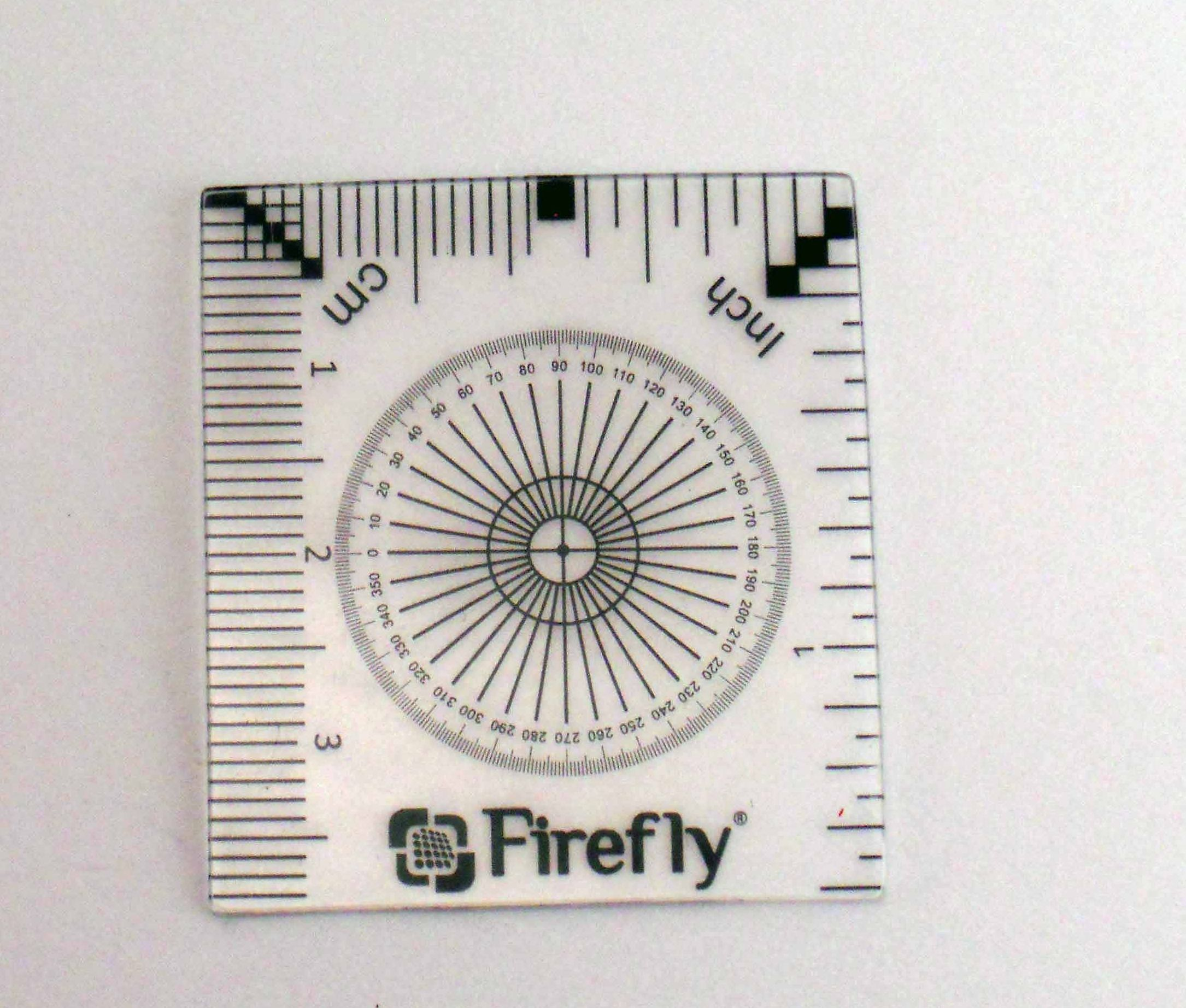 Calibration ruler - Accessoires Microscopes USB Firefly