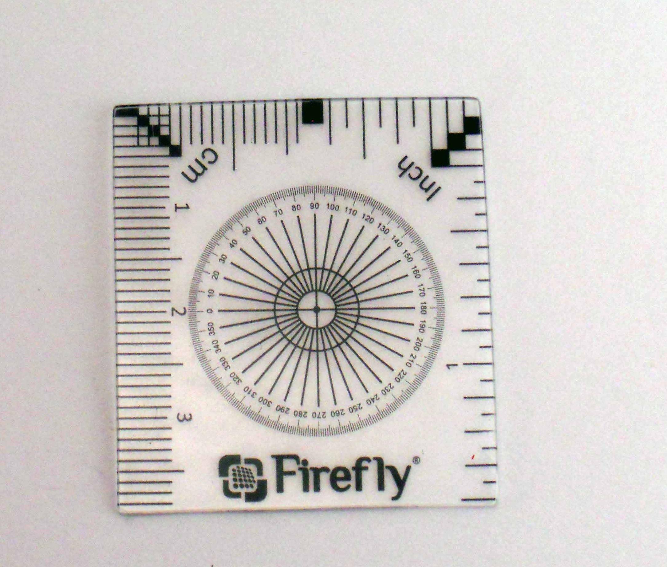 Calibration ruler - Accessoires Microscopes USB Firefly