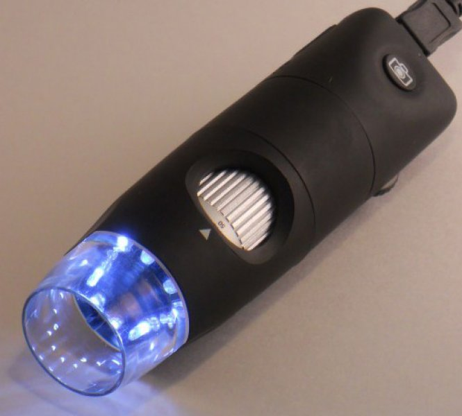 Firefly GT800 Microscope Numérique 2.0 M avec 8 LED