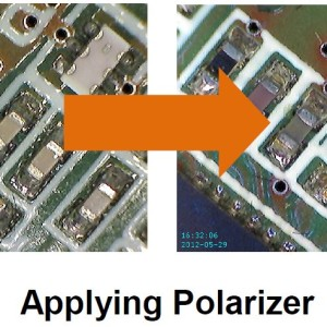Polarizer - Microscope USB Polarisant + UV Firefly GT830