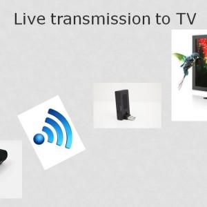 Microscope avec la sortie TV - Microscope USB sans fil Firefly avec Kit Adaptateur TV