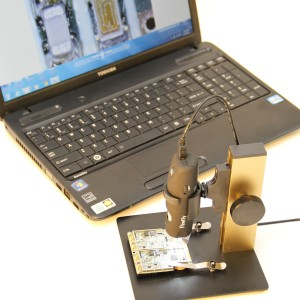 USB Digital Microscope 2.0 Megapixels, 230x Firefly GT800    on a stand 2230 a