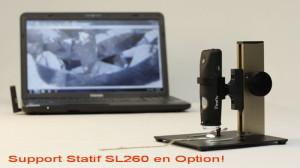 Firefly GT620 Microscope polarisant + static Tx